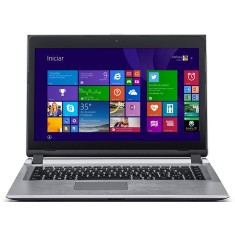 "Foto Notebook Positivo S2850 Intel Celeron 1007U 14"" 4GB HD 320 GB Touchscreen"
