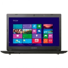 "Foto Notebook Qbex MT40 AMD Dual Core C-60 14"" 2GB HD 320 GB Windows 8"