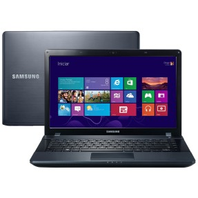 "Foto Notebook Samsung 270E4E-KD8 Intel Celeron 1007U 14"" 2GB HD 500 GB Windows 8"