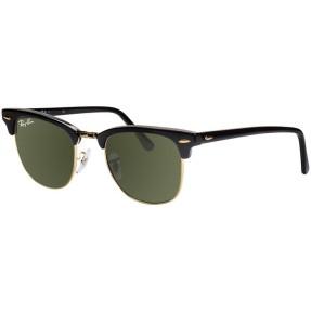 93ebb8a62fdd2 Óculos de Sol Unissex Ray Ban Clubmaster RB3016