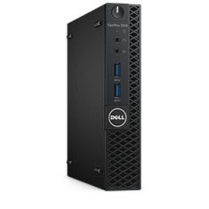 Foto PC Dell Optiplex 3050 MFF Intel Core i5 7500T 4 GB 500 Windows 10 Pro FirePro D300