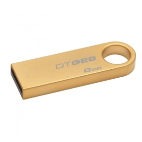 Foto Pen Drive Kingston Data Traveler 8 GB USB 2.0 DTGE9