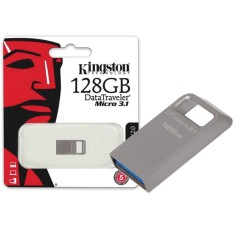 Foto Pen Drive Kingston Data Traveler Micro 128 GB USB 3.1 DTMC3