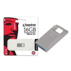 Foto Pen Drive Kingston Data Traveler Micro 16 GB USB 3.0 DTMC3