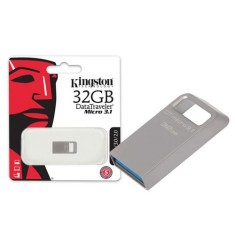 Foto Pen Drive Kingston Data Traveler Micro 32 GB USB 3.0 DTMC3