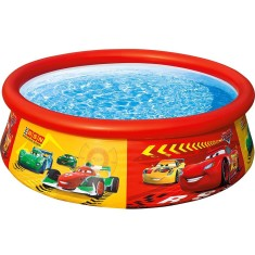 Foto Piscina Inflável 886 l Redonda Intex Easy Set Disney Carros