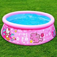 Foto Piscina Inflável 886 l Redonda Intex Hello Kitty 28104