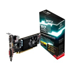 Foto Placa de Video ATI Radeon R7 240 2 GB DDR3 128 Bits XFX R7-240A-CLF2