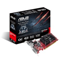 Foto Placa de Video ATI Radeon R7 240 4 GB DDR3 128 Bits Asus R7240-OC-4GD3-L