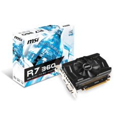 Foto Placa de Video ATI Radeon R7 360 2 GB GDDR5 128 Bits MSI R7 360 2GD5 OC