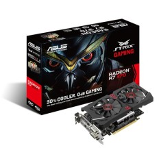 Foto Placa de Video ATI Radeon R7 370 4 GB GDDR5 256 Bits Asus STRIX-R7370-DC2OC-4GD5-GAMING