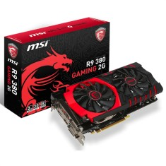 Foto Placa de Video ATI Radeon R9 380 2 GB GDDR5 256 Bits MSI R9 380 GAMING 2G