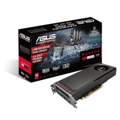 Foto Placa de Video ATI Radeon RX 480 8 GB GDDR5 256 Bits Asus RX480-8G