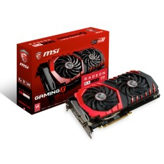 Foto Placa de Video ATI Radeon RX 480 8 GB GDDR5 256 Bits MSI RX 480 GAMING X 8G