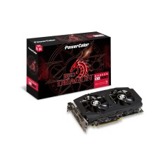 Foto Placa de Video ATI Radeon RX 580 8 GB GDDR5 256 Bits PowerColor AXRX 580 8GBD5-3DHDV2/OC