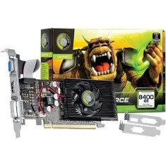 Foto Placa de Video NVIDIA GeForce 8400 GS 1 GB DDR2 64 Bits Point Of View VGA-8400-C5-1024