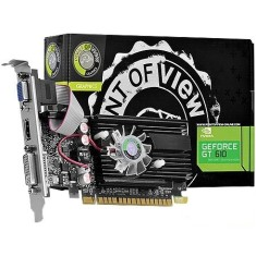 Foto Placa de Video NVIDIA GeForce GT 610 1 GB DDR3 64 Bits Point Of View VGA-610-C2-1024