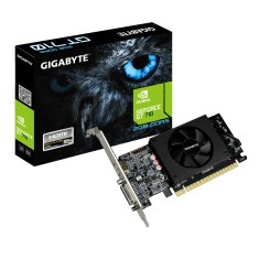 Foto Placa de Video NVIDIA GeForce GT 710 2 GB GDDR5 64 Bits Gigabyte GV-N710D5-2GL