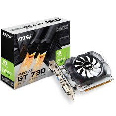 Foto Placa de Video NVIDIA GeForce GT 730 4 GB DDR3 128 Bits MSI N730-4GD3V2