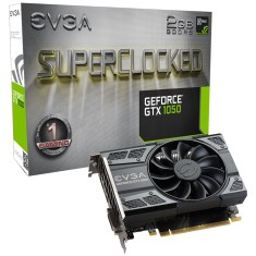 Foto Placa de Video NVIDIA GeForce GTX 1050 2 GB GDDR5 128 Bits EVGA 02G-P4-6152-KR