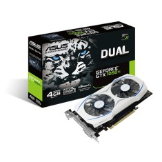 Foto Placa de Video NVIDIA GeForce GTX 1050 Ti 4 GB GDDR5 128 Bits Asus DUAL-GTX1050TI-4G