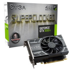 Foto Placa de Video NVIDIA GeForce GTX 1050 Ti 4 GB GDDR5 128 Bits EVGA 04G-P4-6253-KR