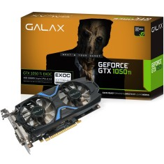 Foto Placa de Video NVIDIA GeForce GTX 1050 Ti 4 GB GDDR5 128 Bits Galax 50IQH8DVN6EC