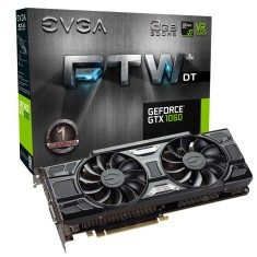 Foto Placa de Video NVIDIA GeForce GTX 1060 3 GB GDDR5 192 Bits EVGA 03G-P4-6365-KR