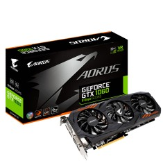 Foto Placa de Video NVIDIA GeForce GTX 1060 6 GB GDDR5 192 Bits Aorus GV-N1060AORUS-6GD