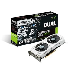 Foto Placa de Video NVIDIA GeForce GTX 1070 8 GB GDDR5 256 Bits Asus DUAL-GTX1070-O8G