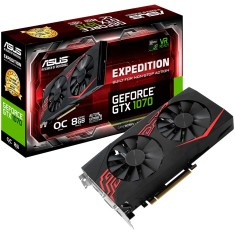 Foto Placa de Video NVIDIA GeForce GTX 1070 8 GB GDDR5 256 Bits Asus EX-GTX1070-O8G