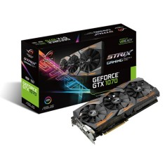 Foto Placa de Video NVIDIA GeForce GTX 1070 8 GB GDDR5 256 Bits Asus STRIX-GTX1070-8G-GAMING