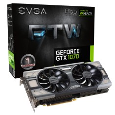 Foto Placa de Video NVIDIA GeForce GTX 1070 8 GB GDDR5 256 Bits EVGA 08G-P4-6276-KR