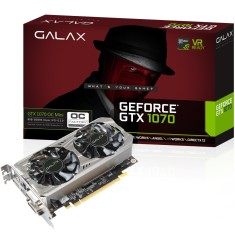 Foto Placa de Video NVIDIA GeForce GTX 1070 8 GB GDDR5 256 Bits Galax 70NSH6DVO5MN