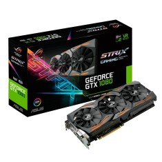Foto Placa de Video NVIDIA GeForce GTX 1080 8 GB GDDR5X 256 Bits Asus STRIX-GTX1080-A8G-GAMING