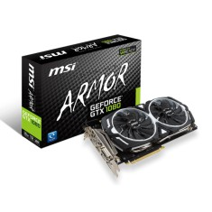 Foto Placa de Video NVIDIA GeForce GTX 1080 8 GB GDDR5X 256 Bits MSI GTX 1080 ARMOR 8G