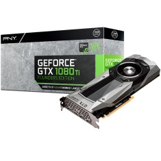 Foto Placa de Video NVIDIA GeForce GTX 1080 Ti 11 GB GDDR5X 352 Bits PNY VCGGTX1080T11PB-FE