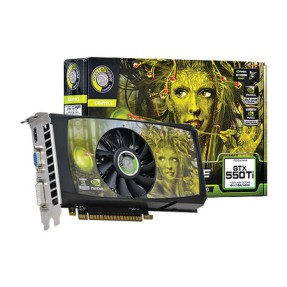 Foto Placa de Video NVIDIA GeForce GTX 550 Ti 1 GB GDDR5 128 Bits Point Of View VGA-550-A3-1024-C