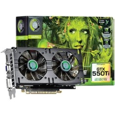 Foto Placa de Video NVIDIA GeForce GTX 550 Ti 1 GB GDDR5 192 Bits Point Of View VGA-550-A1-1024