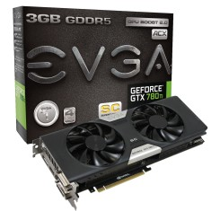 Foto Placa de Video NVIDIA GeForce GTX 780 Ti 3 GB GDDR5 384 Bits EVGA 03G-P4-2884-KR