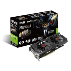 Foto Placa de Video NVIDIA GeForce GTX 970 4 GB GDDR5 256 Bits Asus STRIX-GTX970-DC2OC-4GD5