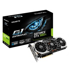 Foto Placa de Video NVIDIA GeForce GTX 980 Ti 6 GB GDDR5 384 Bits Gigabyte GV-N98TG1 GAMING-6GD