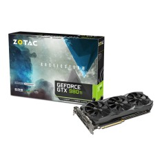 Foto Placa de Video NVIDIA GeForce GTX 980 Ti 6 GB GDDR5 384 Bits Zotac ZT-90502-10P