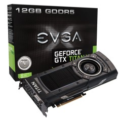 Foto Placa de Video NVIDIA GeForce GTX Titan X 12 GB GDDR5 384 Bits EVGA 12G-P4-2990-KR