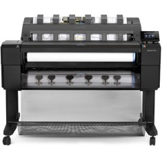 Foto Plotter HP Designjet T1500 PS CR357A Jato de Tinta Colorida