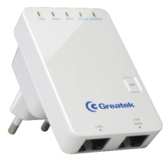 Foto Repetidor Access Point 300 Mbps Greatek