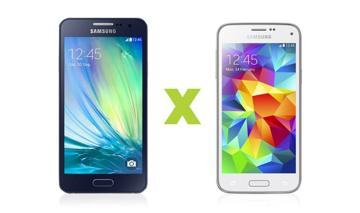 Samsung Galaxy A3, Samsung Galaxy S5 Mini