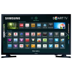 "Foto Smart TV LED 32"" Samsung Série 4 UN32J4300 2 HDMI 
