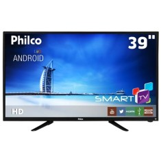 "Foto Smart TV LED 39"" Philco PTV39N92DSGWA 2 HDMI USB"