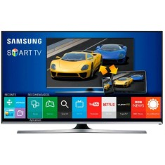 "Foto Smart TV LED 3D 40"" Samsung Série 6 Full HD UN40J6400"